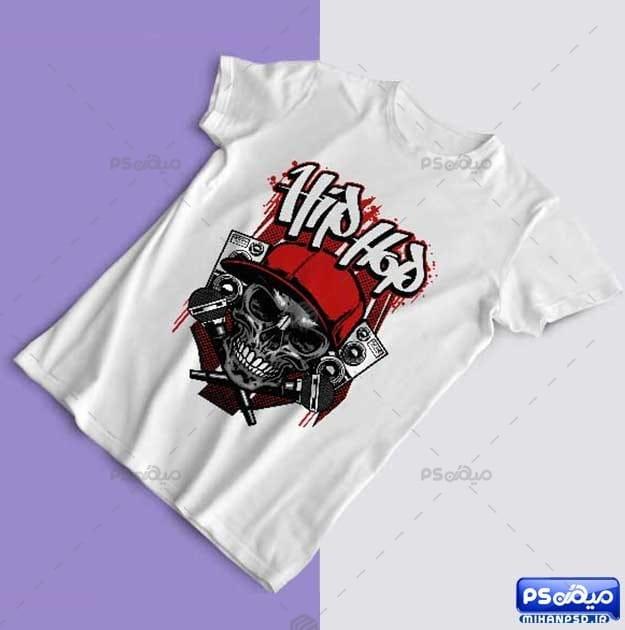 طرح تی شرت هیپ هاپ