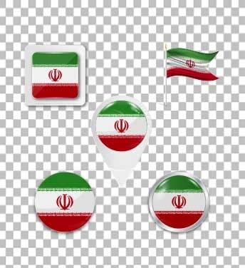 لوگو  لایه باز پرچم ایران